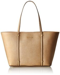 Calvin Klein Saffiano Leather Travel Tote | Bags, of course ...