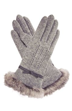Vincent Pradier Wool Gloves   F/W 2012 collection  Our of our very best-selling styles !