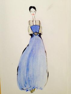 blue night-Antonella Pachta 2015 Cinderella, Disney Characters, Fictional Characters, Snow White, Sketches, Colour, Cool Stuff, Disney Princess, Night