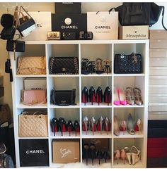 I Want It All. Closet OrganizationHandbag OrganizationHandbag StorageHandbag  ...