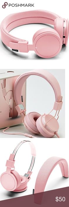 Pink Urbanears Wireless Bluetooth Headphones Not brand listed, but sold out on Urban Outfitters.com 🌟Like-new (used once and cleaned thoroughly) Brand is Urbanears pink bluetooth wireless headphones, comes with wires too Urban Outfitters Other