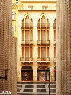 Reconstruction of Beirut downtown