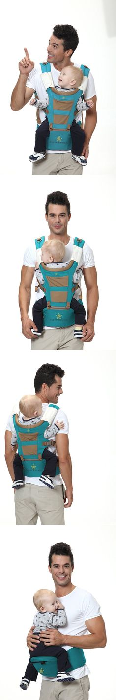 baby and kid stuff: #1 Baby Carrier With Hip Seat 5 Carrying Positions, Front, Backpack And Kangaroo BUY IT NOW ONLY: $39.99
