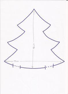 Hola a tod@s ,   Hoy haremos un árbol de Navidad MUY, pero que muy sencillo y rápido de hacer.   imprimir en DIN-A4.  Imprimir el patrón y ...