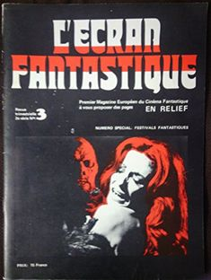 L'ECRAN FANTASTIQUE magazine, 2e series No.  3 (`973), French Edition for $32.95 via @amazon #cinema #fantasyfilms  http://www.amazon.com/dp/B005E916F0/ref=cm_sw_r_pi_dp_NxJaub1R463KF