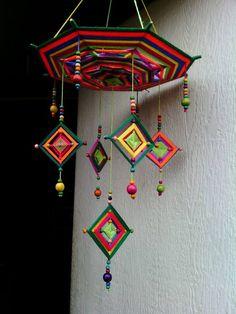 Yaratıcı Projeler: MANDALA - Yaratıcı Projeler: MANDALA Imágenes efectivas que le proporcionamos sobre healthy desserts Una im - Diy Home Crafts, Diy Arts And Crafts, Yarn Crafts, Handmade Crafts, Paper Crafts, God's Eye Craft, Art N Craft, Mandala Design, Mandala Art