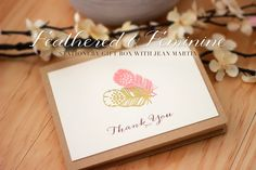 Stamp Away With Me: Feathered & Feminine Stationery