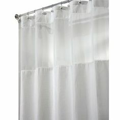 Perfect 78 Inch Long Shower Curtain Fabric | ... Design InterDesign Carlton View Shower  Curtain