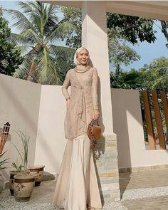 Dress Brokat Muslim, Dress Brokat Modern, Gaun Dress, Dress Brukat, Dress Pesta, Model Kebaya Brokat Modern, Hijab Gown, Kebaya Hijab, Hijab Dress Party