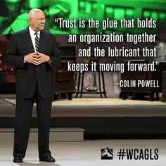 Global Leadership Summit 2013, Colin Powell