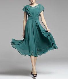 Spring summer chiffon long dress lady women clothing gown dress (BSG193)