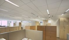 Harmony Office Centre, Armstrong, sufitu podwieszane, ceiling, sufit akustyczny, acoustic, ULTIMA MicroLook BE, Prelude TL15