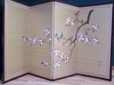 cardboard rice paper room divider - Google Search