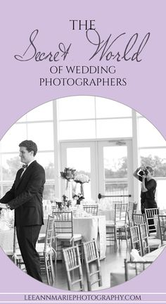 The Secret World of Wedding Photographers