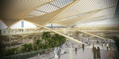 Image 1 of 4 from gallery of Weston Williamson+Partners Wins Competition for Dubai 2020 Rail Link. Photograph by Weston Williamson+Partners World Expo 2020, Rail Link, Architecture Design, Win Competitions, Dubai World, 3d Architectural Visualization, News 2, Master Plan, Convention Centre