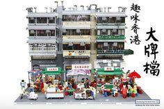 Enjoying amazing street food in Hong Kong