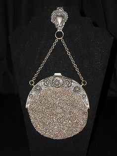 Victorian purse | Vintage Clothing | Pinterest