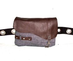Waist bag / waist bag / fanny pack by Taeschner on Etsy, €30.90
