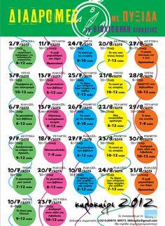 Διαδρομές με πυξίδα τη Βιβλιοθήκη Λιβαδειάς – ΠΡΟΓΡΑΜΜΑ ΙΟΥΛΙΟΥ/ΑΥΓΟΥΣΤΟΥ 2012  (λεπτομέρειες http://goo.gl/vBlHM)