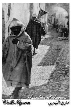 Rue Neyarin tetouan morocco