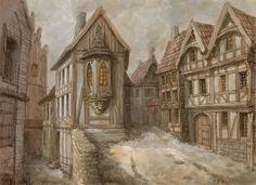 Medieval town 2 by Hetman80 on DeviantArt