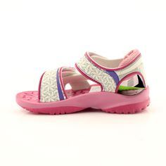 Pink sandals children's shoes for water Rider 80608 shades of pink Swimming Sport, Pink Sandals, Comfortable Heels, Childrens Shoes, Blue Accents, Velcro Straps, Sports Shoes, Footwear, Ankle