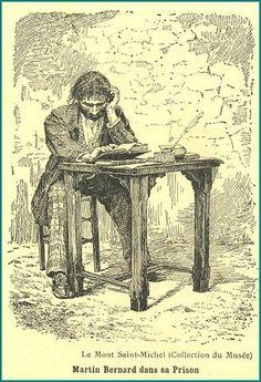 Mont saint michel - Les prisons du Mont Saint Michel - Les cahiers du petit manchot -