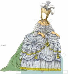 Welcome to Dover Publications Marie Antoinette Paper Doll