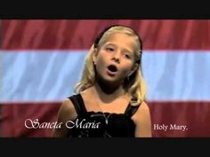 This one entered my ears through my heart.  - Ave Maria (Bach/Gounod) ( Jackie with lyrics )