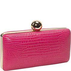 Milly Adriana Iguana Miniaudiere - Hot Pink - via eBags.com!