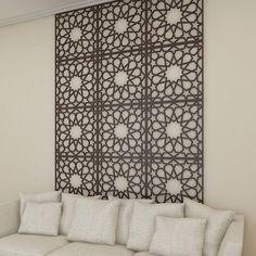 #FAYA #Mashrabiya Decor, Middle Eastern Decor, Jalli Design, Large Wall Decor, Photo Wall Decor, Islamic Patterns, Acrylic Wall Panels, Decorative Panels, Iron Decor