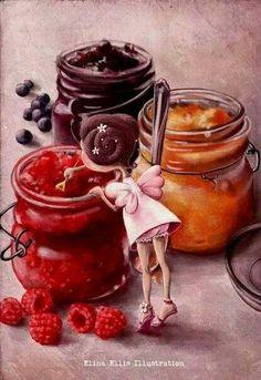 """Cuando saboreas una mermelada hecha en forma artesanal haces un viaje a los recuerdos de una cálida niñez. De esas """"onces"""" al regresar del colegio, de los mimos de la madre y el cariño de la abuela. Sabores y aromas que evocan recuerdos. Regalos de Chile Petirrojo - Google+ - #Alimentación #Artesanal #Chile #Mermelada"""