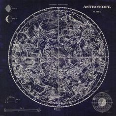Celestial Blueprint at FramedArt.com