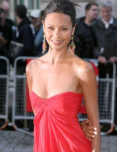 "Are Dark-Skinned Black Women Perceived to Be the ""Ugly Sisters"" of Bi-racial Women? Beautiful African Women, Most Beautiful Women, Beautiful People, Thandie Newton, Newton Photo, Dark Beauty, Celebs, Celebrities, Woman Crush"