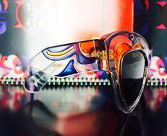 4e9c1a48148 Miu Miu butterfly transparent sunglasses spring fall winter 2015. Miu Miu  eyewear is manifested in
