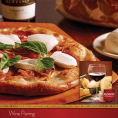 Are you dining with your sweetie tonight? Bring harmony to your coal-fired Prosciutto Pizza with the juicy flavors of a Cabernet.