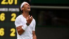 Nadal queda fuera de Wimbledon a la primera