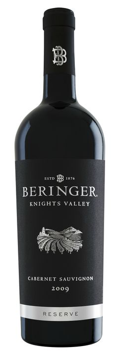 Beringer Knights Valley Reserve Cabernet Sauvignon 2010 from Sonoma County, California - Wine Spectator Top 100 of 2013 This wine has rich aromas of dark cherry, anise, dark cocoa and toasted spices. Bottle Labels, Wine Labels, Cabernet Sauvignon, Label Design, Red Wine, Cocoa, Alcoholic Drinks, Food And Drink, Knights