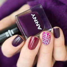 #ANNY Purple Rain & Mysterious Woman & Naked Venus для #лаковаяпалитраaubergine_and_plum #лаковаяпалитра ...