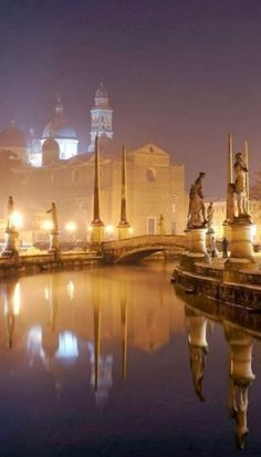 Padua, Italy:  I remember Padua from one of Shakespeare's plays.  So long ago.