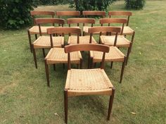 Antiques Atlas - 10 Chairs By Arne Hovmand-Olsen For Mogens Kold