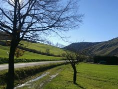 Twitter / riomondegos: le colline fuori Bologna d'inverno
