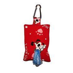 Barkertime I Woof You Dog Poop Bag Dispenser - Made in USA - Great Gift for Dog Owner *** Learn more @