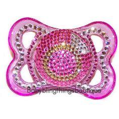 Bling Bling Baby Stuff | Baby Bling Things Boutique, Swarovski Crystals Light Custom Shower ...