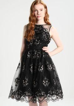Chi Chi London RILANA - Cocktail dress / Party dress - black/gold - Zalando.co.uk