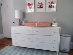 Dresser + Baby Changing Pad