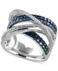 EFFY Final Call Diamond Ring (1-7/8 ct. t.w.) in 14k White Gold | macys.com