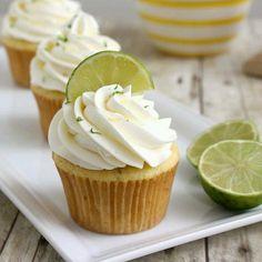Marguerita cupcakes