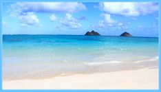 "Lanikia Beach Oahu Hawaii ""lani Kai"" translates to ""Heavenly Ocean"" that it was!"