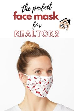 A design for realtors! Face masks help you express yourself even when you can't show your face and protect you at the same time. #facemask #mask#realtorsoutfit#realestate #realestatepattern Old Faces, New Homeowner, Go Shopping, Real Estate, Silhouette, Money, Youtube, Pattern, Depressed